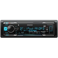 Kenwood KMMBT315U Digital Media Receiver with Built-In Bluetooth (Black). Android AOA (Android Open Accessory 2.0). Front USB (Rapid Charge) and Aux Inputs. FLAC 48k/16bit support on USB.