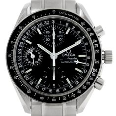 Omega Speedmaster Day Date Mens Watch 3520.50.00