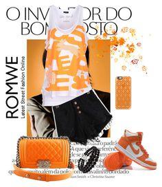 """""""It's an orange kinda day"""" by jess-za ❤ liked on Polyvore"""
