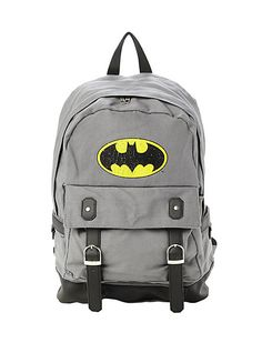 Not exactly a professional brief case but who cares.wait for it.wait for it.I'm Batman! Rucksack Bag, Backpack Bags, Mochila Batman, Batman Love, Batman Stuff, Nananana Batman, Batman Outfits, Batman Shoes, Grey Backpacks