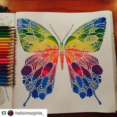Instagram media florestaencantada2 - Sessão Paraíso Tropical  Colorido da @helloimsophie_  _____________________________________ #milliemarotta #tropicalwonderland #paraisotropical #jardimsecreto #florestaencantada #oceanoperdido #colorindo #colouringbook #art