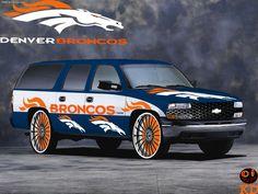 GO Broncos!   VROOM II   Pinterest   Denver, Cars and Broncos fans
