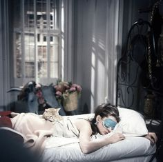 Just bought a Breakfast at Tiffany's sleep mask! Super excited :)