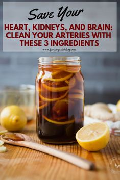 Save Your Heart, Kidneys, and Brain: Clean Your Arteries With These 3 ingredients – Health Natural Health Remedies, Natural Cures, Herbal Remedies, Natural Healing, Natural Foods, Natural Oil, Cold Remedies, Natural Treatments, Stomach Ulcers