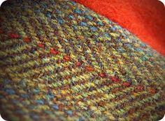 Vintage Harris Tweed - Invertere coat, circa 1968.