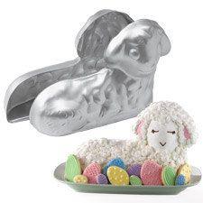 I really like the Easter egg cookies. Stand-Up Lamb Pan Set - Wilton Unicorn Head Cake, Unicorn Cupcakes Cake, Unicorn Cake Design, Easy Unicorn Cake, Unicorn Cakes, Wilton Cake Pans, Cake Mold, Thema Deco, Sheep Cake