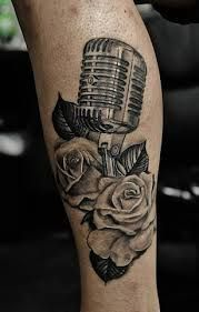 Related image Microphone Tattoo, Tatting, Skull, Ink, Tattoo Ideas, Rose, Image, Pink, Bobbin Lace