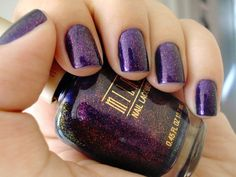 Of course I have purple nail polish and wear it frequently!  :-)