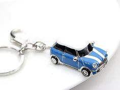 mini car,drop of oil plus diamond luxury car keychain, silver keychain,perfect gift for you or friends