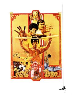 High-Resolution Movie Posters With All of the Text Removed - Enter the Dragon