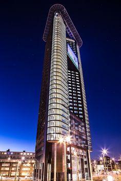 Het Strijkijzer (132 meters) l Den Haag l The Hague l The Netherlands #architecture #buildings #netherlands