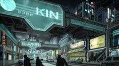 Cyberpunk, Cyph Concept Art - Imgur