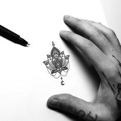 Mini lotus for Elena. Thank you! #mandala #mandalatattoo #mandalaart #blackwork #blackworkerssubmission #flashworkers #blacktattooart #onlyblackart #blackartsupport #tattoo #tattooart #ink #drawing #illustration #art #artwork #flower #linework #patternwork #design #pencil #simmetry #tattoopins #darkartists #lotus #lotusflower #lotustattoo #moon #moontattoo #geometry