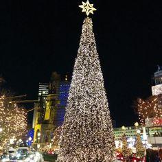 #Święta 2014 #choinka #Berlin