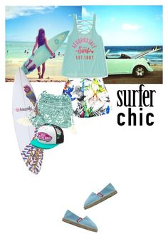 """""""surfer chic"""" by saramoreira ❤ liked on Polyvore featuring Suboo, Aéropostale, Vans, PAM, women's clothing, women, female, woman, misses and juniors"""