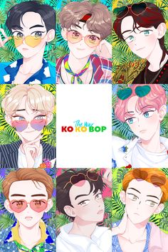 ideas wallpaper kpop mamamoo for 2019 Kpop Exo, Exo Kokobop, Exo Chen, Kpop Anime, Exo Cartoon, Exo Stickers, Exo Music, Exo Songs, Otaku