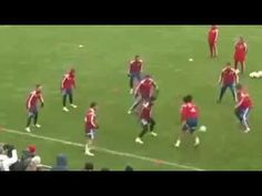 Training - Amazing One Touch Football In Bayern ! - YouTube