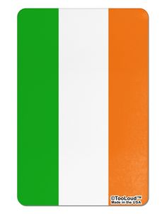 Irish Flag - Flag of Ireland Aluminum Magnet All Over Print