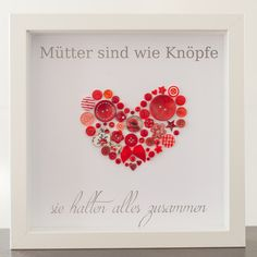 – Dekoration – Muttertag – Mit Liebe handgem… Heart button image ideal for Mother's Day! – Decoration – Mother's Day – Handmade with love in Lohmar, Germany by jessyknopf Mother Gifts, Fathers Day Gifts, Wallpaper World, Origami, Skins Minecraft, Father's Day Diy, Diy Gifts, Picture Frames, Diy And Crafts