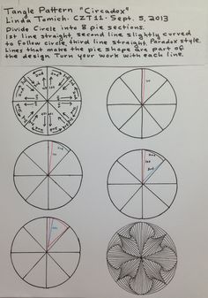 how to draw a mandala without a compass