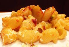 Massa com abobrinha e tomate seco - bem simples de fazer