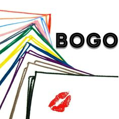 Buy One Get One Free for our Lipstick Smooches Pocket Squares  WWW.KINGKRAVATE.COM