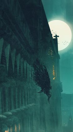 BloodBorne Eileen The Crow AnatoFinnstark Dark Fantasy Art, Fantasy Artwork, Fantasy World, Dark Art, Gothic Horror, Gothic Art, Victorian Gothic, Gothic Girls, Gothic Beauty
