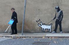 Banksy ~ Keith Haring