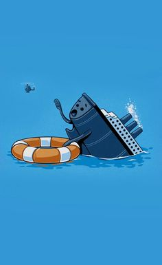Ship Sink - Funny iPhone wallpapers @mobile9
