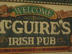McGuire's Irish Pub, Pensacola, Florida
