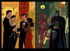 Wayne / Stark - Iron Man / Batman
