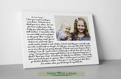 Personalized photo print with quote Personalized Poetry Poem Personalized Fathers Day Gifts, First Fathers Day Gifts, First Mothers Day, Daddy Gifts, Sister Gifts, Gifts For Dad, Sister Poems, Mom Poems, Mother Poems