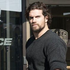 Henry Cavill in bear mode Henry Caville, Love Henry, Superman Cavill, Henry Superman, Henry Cavill Beard, Hugh Jackman, Tom Hardy, Henry Williams, My Sun And Stars
