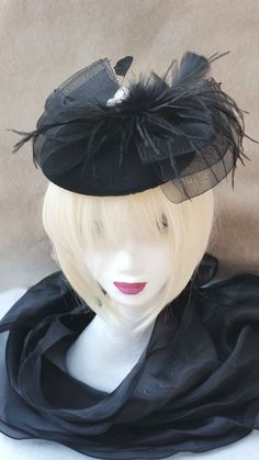 Bibi Chapeau Headband Mariages, cérémonies, Cocktails : Chapeau, bonnet par ysabell