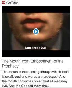 The Mouth from Embodiment of the Prophecy http://www.andrewtheprophet.com/11301/260362.html