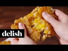 Tater Tot Grilled Cheese - Best Grilled Cheese Recipes - Delish.com