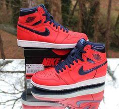4877e889430120 Air Jordan 1 Retro High OG David Letterman 555088-606 Men s Size 9.5  Jordan   BasketballShoes