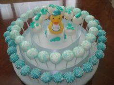 Baby shower cake pop ideas for boys  