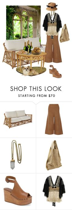 """""""Garden Picnic Contest"""" by winterowl ❤ liked on Polyvore featuring Gap, Acne Studios, Lacey Ryan, Satya, Alexander Wang and Matisse"""