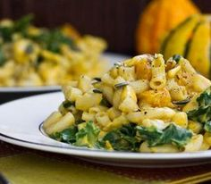 Vegan Mac 'n' Cheese with butternut squash- must try this!
