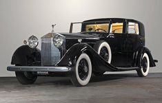 The ex-Gladys Swarthout, rare left hand drive 'AMS Series',1933 Rolls-Royce Phantom II Sedanca de Ville  Chassis no. 220 AMS Engine no. U65J Ferrari F40, Lamborghini Gallardo, Maserati, Bugatti, Classic Motors, Classic Cars, Vintage Cars, Antique Cars, Rolls Royce Phantom