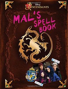 Descendants: Mal's Spell Book Hardcover – July 14, 2015 by Disney Book Group (Author), For fans of Descendants, this spell book, which formerly belonged to Maleficent before she passed it on to Mal, i