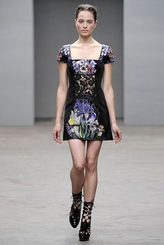 Christopher Kane Fall 2010 Ready-to-Wear Collection Slideshow on Style.com