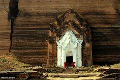 Mingun rock temple, Myanmar. Photo: Bennett Stevens
