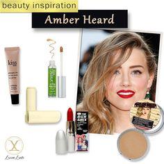 Beauty Inspiration: Amber Heard's Perfect Matte Red Lip Look #luxielush