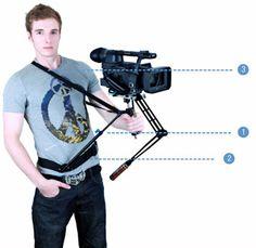 Camera stabilizer|Photography equipment|Camera slider dolly|Camera follow focus http://www.vitalemporium.com/