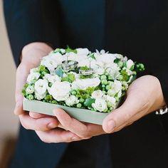 Цветочная подушечка для колец @floral_style @art_petrov #цветочныйстильнск #Новосибирск