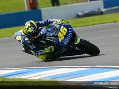 Les motos de Rossi: Yamaha YZR-M1 Valentino Rossi 2004