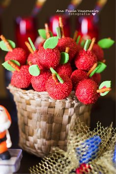13 Raspberry, Strawberry, Fake Cake, Party Themes, Snow White, Candy, Fruit, Sweet, Food