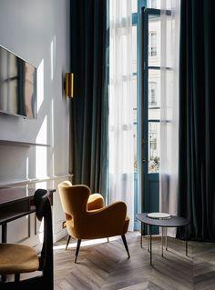 Отель The Hoxton в Париже: фото интерьеров в старинном здании XVIII века | AD Magazine